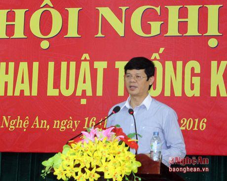 Nghe An trien khai Luat Thong ke 2015 - Anh 3