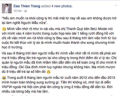 He lo 'Black List Model' bi cam dien tai tuan le thoi trang Viet Nam? - Anh 1