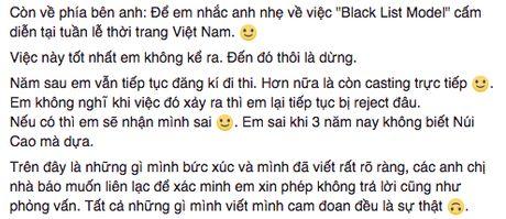 He lo 'Black List Model' bi cam dien tai tuan le thoi trang Viet Nam? - Anh 2