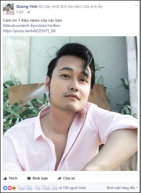 'Dieu buon tenh' cua Quang Vinh can moc 1 trieu luot xem sau it ngay len song - Anh 1