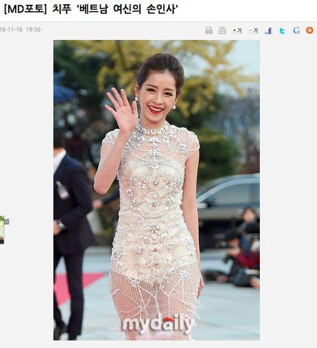 'Nu than tham do' Asia Artist Awards 2016 khong ai khac chinh la Chi Pu! - Anh 2
