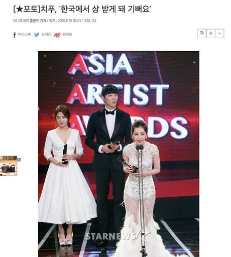 'Nu than tham do' Asia Artist Awards 2016 khong ai khac chinh la Chi Pu! - Anh 4
