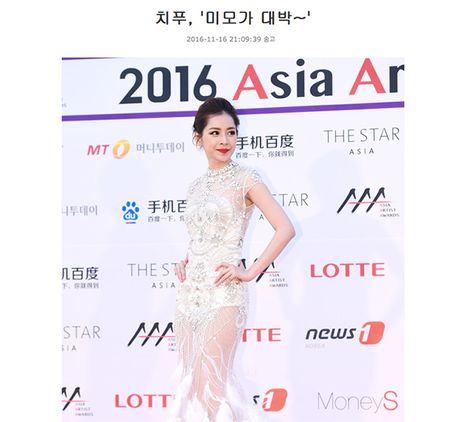 'Nu than tham do' Asia Artist Awards 2016 khong ai khac chinh la Chi Pu! - Anh 6