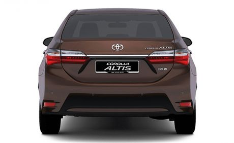Toyota Corolla Altis 2017 sap trinh lang thi truong Dong Nam A - Anh 2