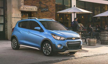 Chevrolet Spark Activ 2017 the thao hon, gia tu 16.945 USD - Anh 1