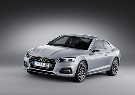 Audi A5 the he moi, coupe the thao di nguoc xu huong - Anh 1