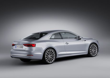 Audi A5 the he moi, coupe the thao di nguoc xu huong - Anh 2