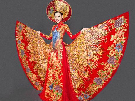 Ngam trang phuc dan toc cua Hoang Thu Thao tai Miss Asia Pacific International - Anh 1