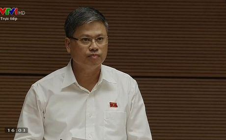 Dai bieu hoi '2 cau hoi de' voi Bo truong Le Vinh Tan - Anh 1