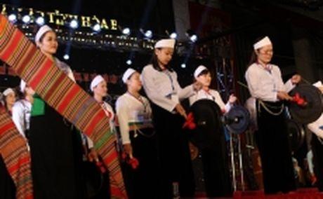 Khai mac le hoi chieng Muong tinh Hoa Binh lan thu hai - Anh 1