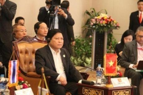Khai mac Hoi nghi hep Bo truong Quoc phong ASEAN tai Lao - Anh 1