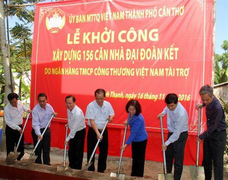 MTTQ TP Can Tho: Khoi cong 156 can nha dai doan ket - Anh 2