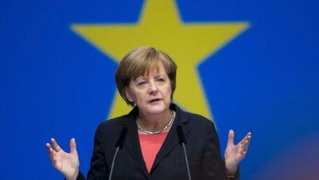 Thu tuong Duc Angela Merkel san sang tranh cu nhiem ky thu tu - Anh 1