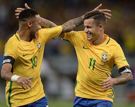 Peru vs Brazil (0-2): Neymar va dong doi tan cong mau lua - Anh 10