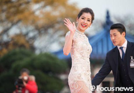 Chi Pu noi bat giua dan sao hang A Han Quoc tren tham do - Anh 3
