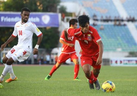 Tuyen Myanmar nhieu au lo truoc tran dau voi Viet Nam - Anh 1