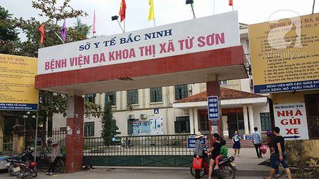 Bo Y te: So Y te Bac Ninh lam ro thong tin be so sinh tu vong tren ban mo - Anh 1