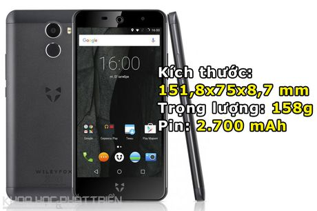 Smartphone selfie 'Quoc tich Anh', cam bien van tay, gia hap dan - Anh 3