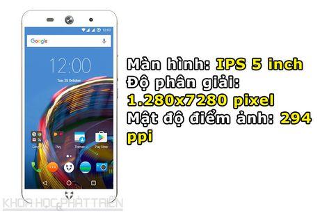 Smartphone selfie 'Quoc tich Anh', cam bien van tay, gia hap dan - Anh 5