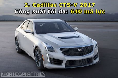 Top 10 xe sedan manh nhat the gioi - Anh 2
