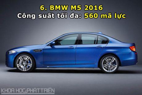 Top 10 xe sedan manh nhat the gioi - Anh 6