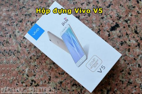 Tren tay Vivo V5: Camera selfie 20 MP, RAM 4 GB - Anh 18