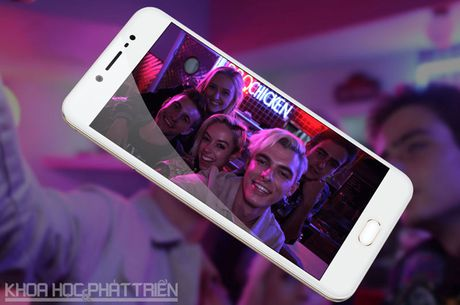 Tren tay Vivo V5: Camera selfie 20 MP, RAM 4 GB - Anh 19