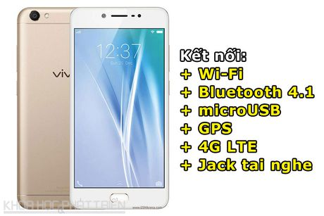Tren tay Vivo V5: Camera selfie 20 MP, RAM 4 GB - Anh 4