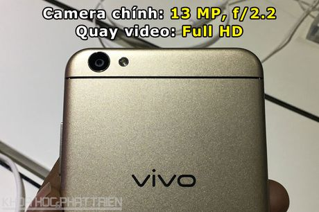 Tren tay Vivo V5: Camera selfie 20 MP, RAM 4 GB - Anh 6