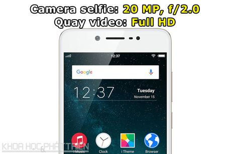 Tren tay Vivo V5: Camera selfie 20 MP, RAM 4 GB - Anh 7