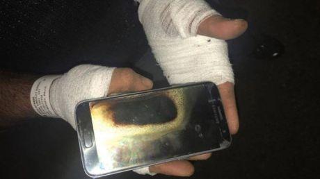 Galaxy S7 phat no, Samsung chuan bi ra toa - Anh 1