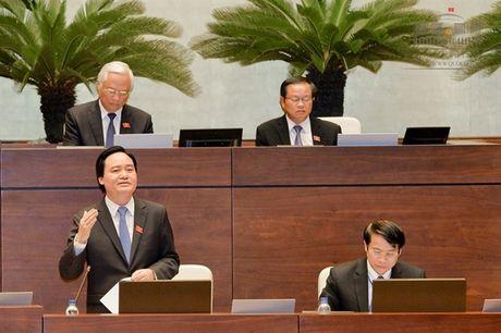 Bo truong Bo GD - DT Phung Xuan Nha nhan trach nhiem nhieu van de - Anh 1