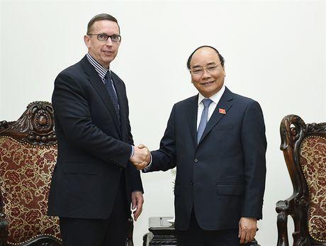 Thu tuong Nguyen Xuan Phuc tiep Hieu truong Dai hoc Waikato - Anh 1