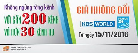 MyTV tang them 2 kenh, gia khong doi - Anh 1