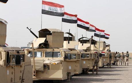 Quan Chinh phu Iraq dang chiem uu the truoc IS tai Mosul - Anh 1