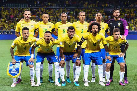 BXH VL WC 2018 khu vuc Nam My: Brazil but pha, Argentina tro lai - Anh 1