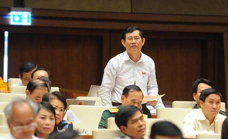 Hinh anh: Phien tra loi chat van cua Bo truong Bo Noi vu Le Vinh Tan - Anh 4