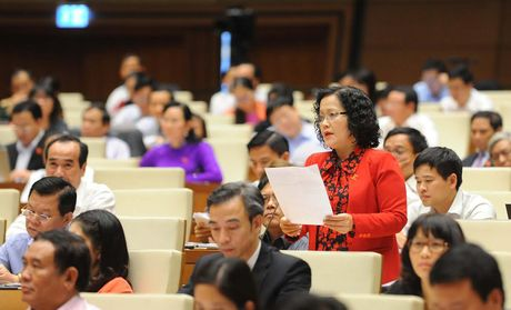 Hinh anh: Phien tra loi chat van cua Bo truong Bo Noi vu Le Vinh Tan - Anh 7