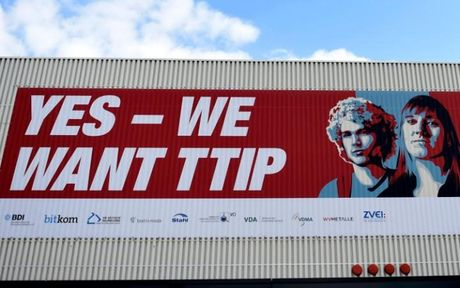 Lanh dao My, Duc nhan manh vai tro cua toan cau hoa va TTIP - Anh 1