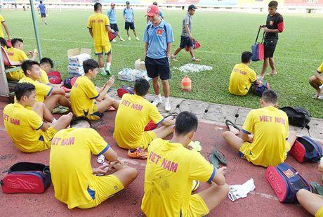 DT U21 Viet Nam cong bo danh sach du giai U21 quoc te 2016 - Anh 1