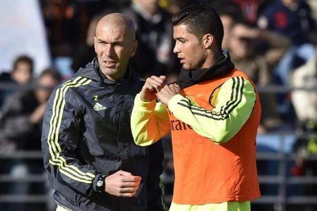 Zidane va bai toan '3 diem' trong tran derby Madrid - Anh 1