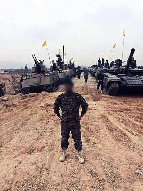 Kinh ngac dan vu khi Hezbollah tap trung danh IS o Syria - Anh 1