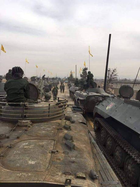Kinh ngac dan vu khi Hezbollah tap trung danh IS o Syria - Anh 5
