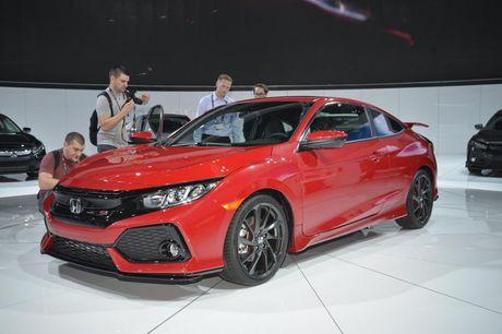 'Soi' chi tiet Honda Civic Si Prototype 2017 vua ra mat - Anh 1