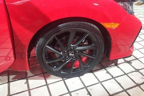 'Soi' chi tiet Honda Civic Si Prototype 2017 vua ra mat - Anh 5