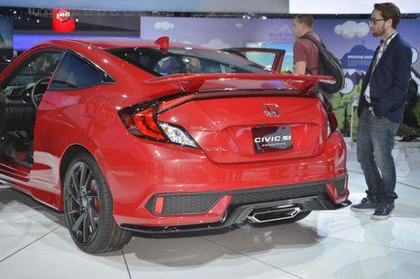 'Soi' chi tiet Honda Civic Si Prototype 2017 vua ra mat - Anh 6