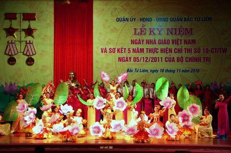 Ha Noi: Quan Bac Tu Liem to chuc Le ki niem Ngay Nha giao Viet Nam - Anh 12