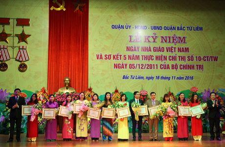 Ha Noi: Quan Bac Tu Liem to chuc Le ki niem Ngay Nha giao Viet Nam - Anh 3
