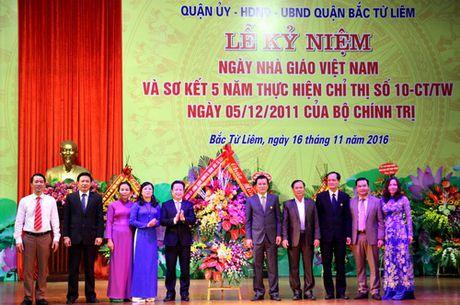 Ha Noi: Quan Bac Tu Liem to chuc Le ki niem Ngay Nha giao Viet Nam - Anh 4