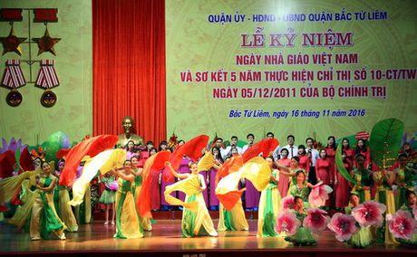 Ha Noi: Quan Bac Tu Liem to chuc Le ki niem Ngay Nha giao Viet Nam - Anh 6